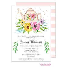 Sweet Tea Bridal Shower Invitation