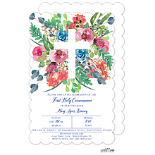 Garden Cross Invitation