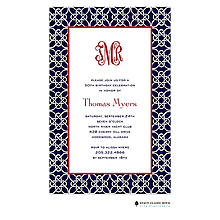 Nautique - Navy Invitation