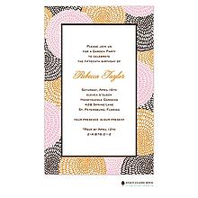 Petal Pushers - Pink Invitation