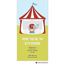 Circus Fun Party Invitation