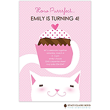 Purrrfect Party Party Invitation