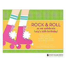 Ready To Roll Party Invitation