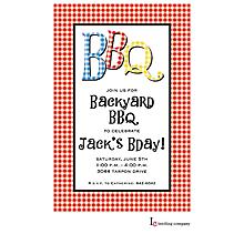 BBQ Check Invitation