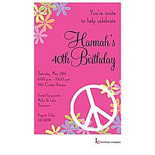 Peace Floral Invitation