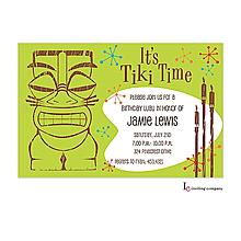 Tiki Invitation