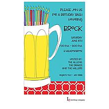 Birthday Beer Invitation