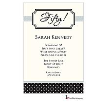 Bookplate Black Invitation