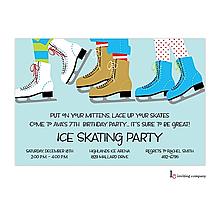 Ice Skating Party Invitation