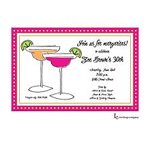 Two Margaritas Invitation