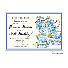 Chintz Tea Invitation