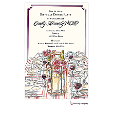 Wine & Dine Invitation