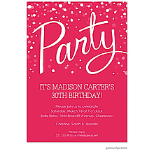 Party Watermelon Invitation