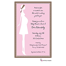 Mom Girl Invitation