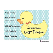 Ducky Invitation