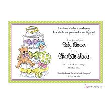 Diaper Tiers Invitation