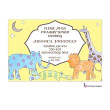 Magical Safari Invitation