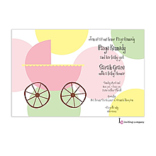 Carriage Girl Invitation