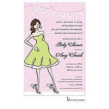 Mama Girl Invitation