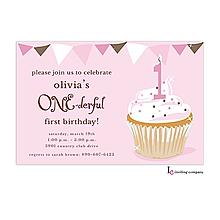 One-derful Girl Invitation