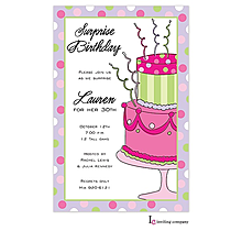 Crazy Cake Invitation