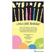 Candles Invitation