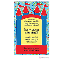 Bouncy Boy Invitation