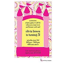 Bouncy Girl Invitation