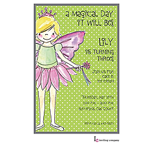Fairy Girl Invitation