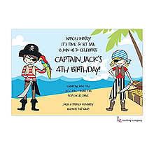 Pirate Kids Invitation