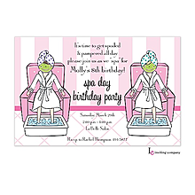 Little Spa Invitation