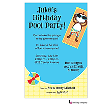 Monkey Pool Invitation