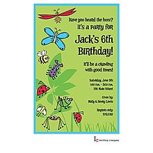 Bugs Galore Invitation