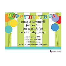 Birthday Deco Invitation