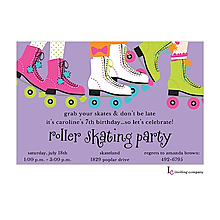 Funky Skates Invitation