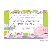 Tea n Sweets Invitation