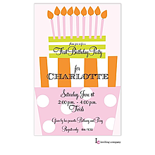 Fun Day Girl Invitation