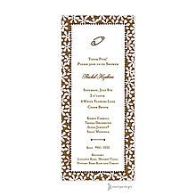 Fun Daisies Pink & Chocolate Invitation