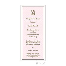 Sweet Dots Pink Invitation