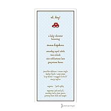 Sweet Dots Blue Invitation