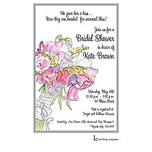 Bouquet Wash Invitation