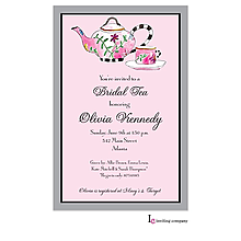 Bold Tea Invitation