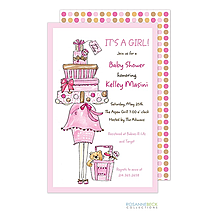 Momma Package Invitation - Pink