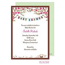 Baby Bird Invitation