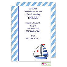 Set Sail Invitation