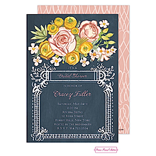 Lush Floral Invitation