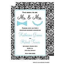 Couples Bridal shower invitations NEW selections Summer 2018