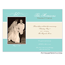 Photo Card - Anniversary Invitation