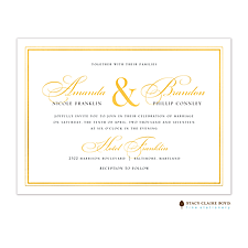 foil press invitation: Classic Shine Foil Pressed Invitation
