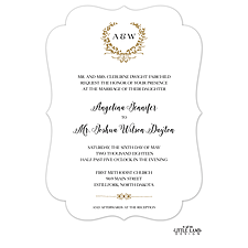 foil press invitation: Gleaming Wreath Foil-Pressed Invitation